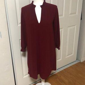 H&M Burgundy Dress Size 10